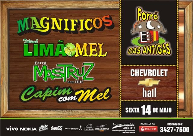 Ingressos Recife Forr 243 Das Antigas No Chevrolet Hall