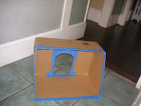 Toy synagogue: box 1 view a