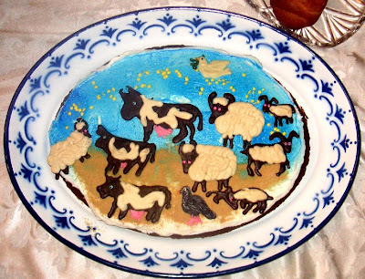 Parshat hashavua cake for lech lecha