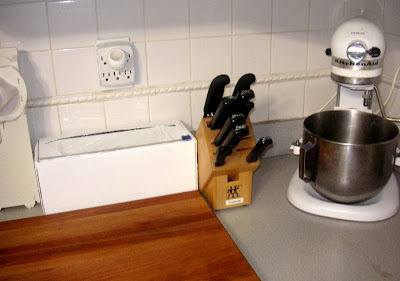 knife block in situ