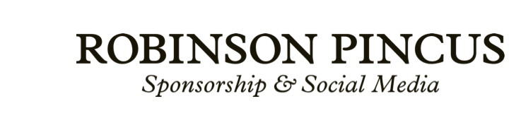 Robinson Pincus | Sponsorship and Social Media