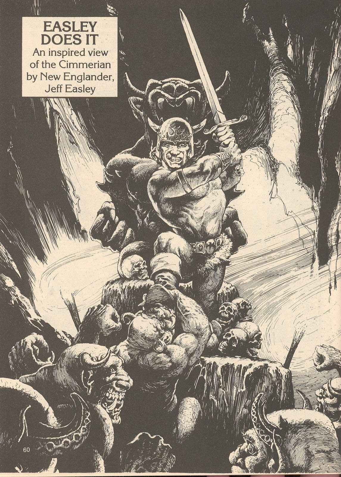 The Savage Sword Of Conan Issue #76 #77 - English 60