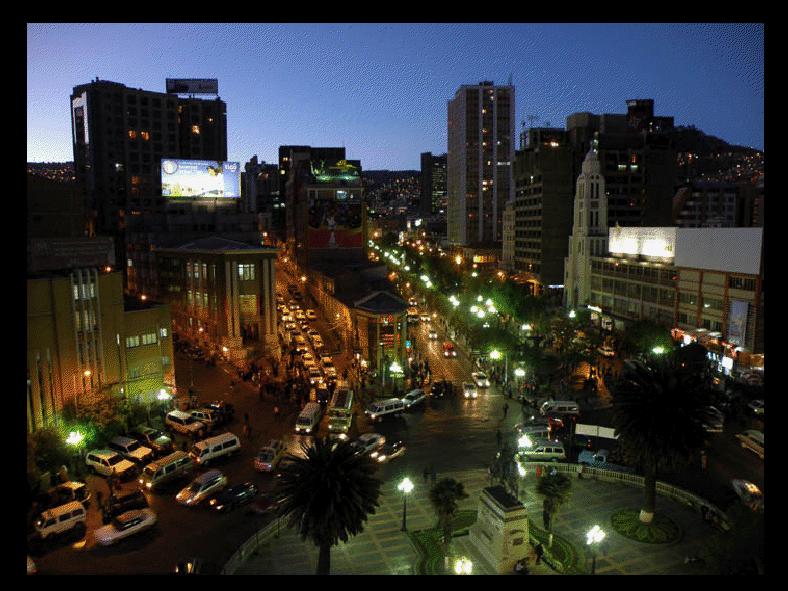 Barrios de La Paz