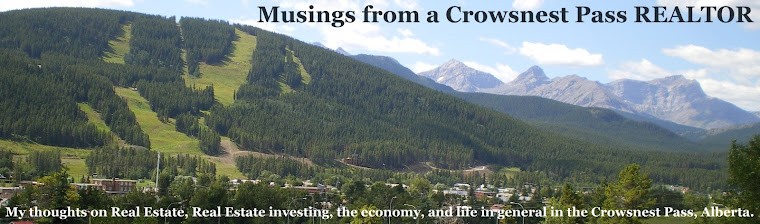 Musings from a Crowsnest Pass REALTOR