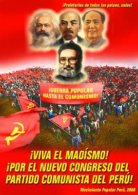 Partido Comunista del Perú - Sendero Luminoso Poster08_2