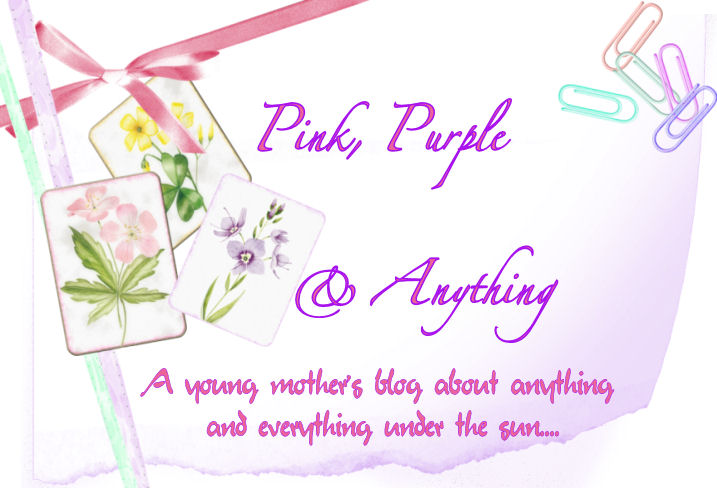 PINK, PURPLE and ANYTHING