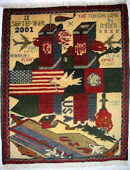 WAR RUG COMMEMORATING 9-11