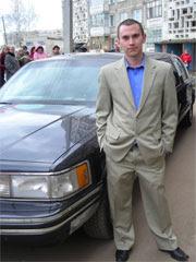 Вадим у лимузина