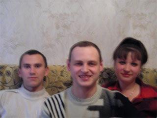 Вадим, Сергей, Марина
