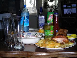 Ужин в Семёнове