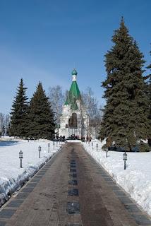 Дорога к Архангельскому собору