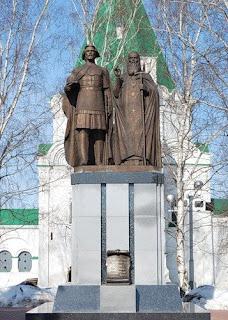 Памятник основателям Нижнего Новгорода