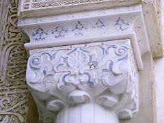 Capitel en La Alhambra