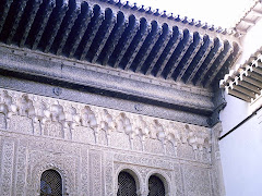 Cornisa volada en La Alhambra