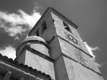 Torre románica en Bernuy de Porreros