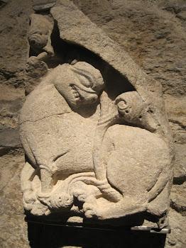 León románico (Museo de la Catedral de Santiago)