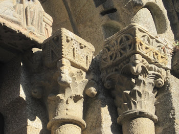 Capiteles románicos (Santiago de Compostela)