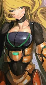 """Metroid """"Samus Aran"""""""