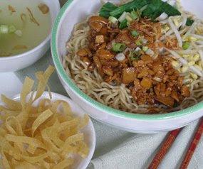 Resep masakan Mie Ayam Bangka