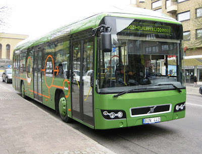 Volvo Museum and Hybrid Bus