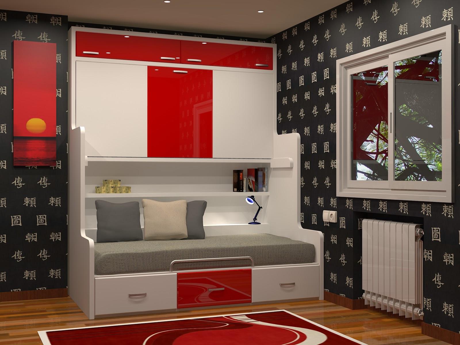 Tienda dormitorios juveniles decoraci n integral para tu - Camas abatibles juveniles para espacios reducidos ...
