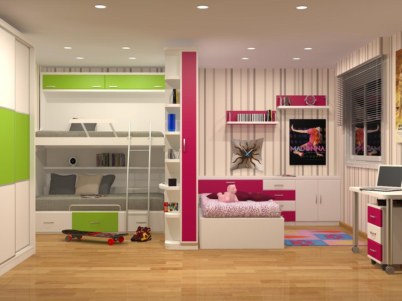 Tienda dormitorios juveniles decoraci n integral para tu for Habitaciones juveniles completas baratas