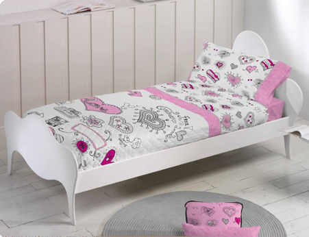 Muebles juveniles dormitorios infantiles y habitaciones - Fundas nordicas juveniles ...
