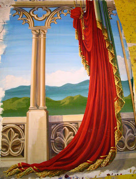 Stage design painting