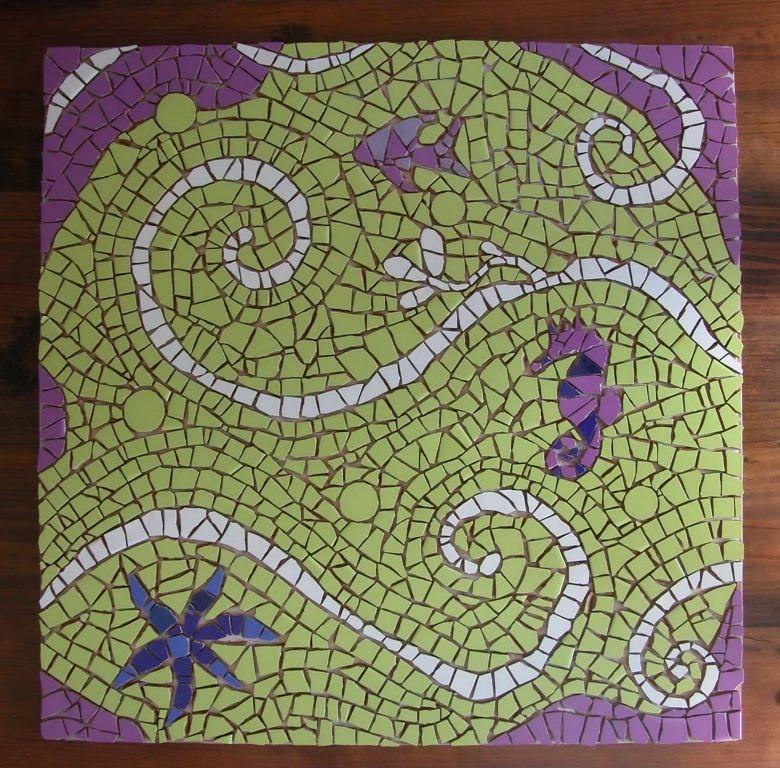 Mosaicos mesa baja dise os marinos for Disenos para mosaicos
