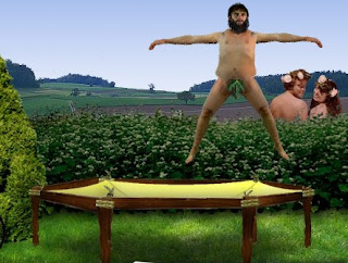 Naked Trampolining Nude game