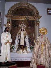 El cautivo, El Ecce homo,Ntra. Sra del Carmen y María del Dulce Nombre