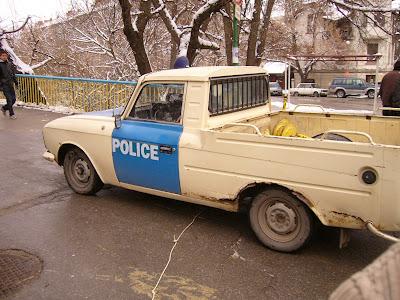 A Lada Police Car - Is it Road Worthy?