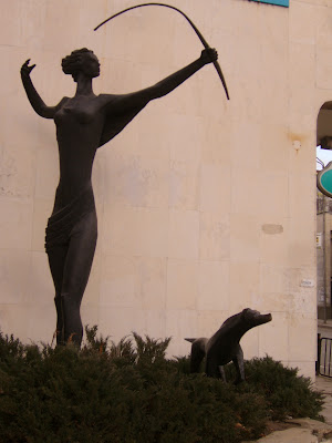 Yambol's Greek Goddess Diana - A Different Pose