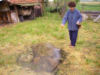 Bulgarian Storm Is No Deterrent For Bonfires