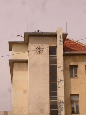 A Clock High On A Yambol Municiple Building