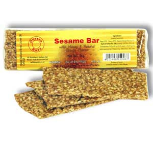 Sesame and Honey Energy Snack Bar Recipe