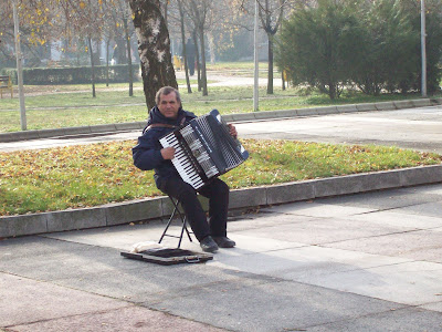 The Lone Yambol Accordianist