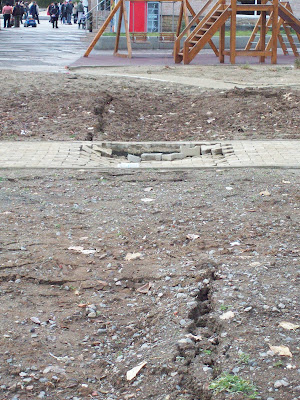 Subsidence In Yambol City Centre