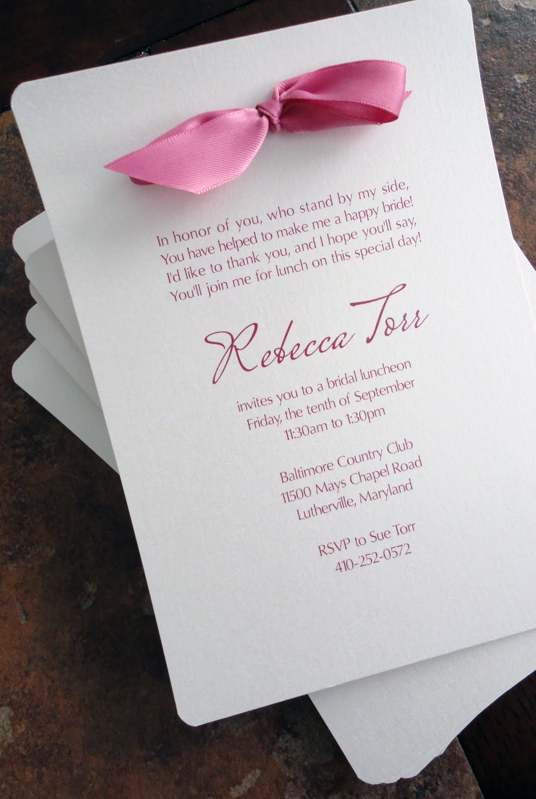How Long Before Bridal Shower To Send Invitations Image collections ...