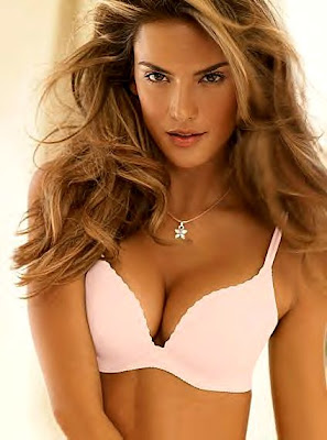 0ec6b4d4a1911 Pictured above is a Victoria s Secret model wearing an Angels Secret  Embrace bra.