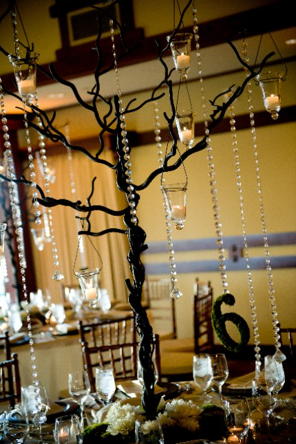 Moss Decorations from Dream Green Weddings