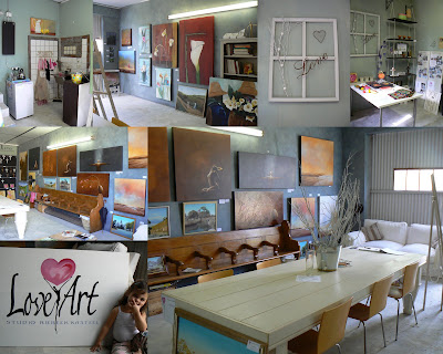 Photo collage of the Studio