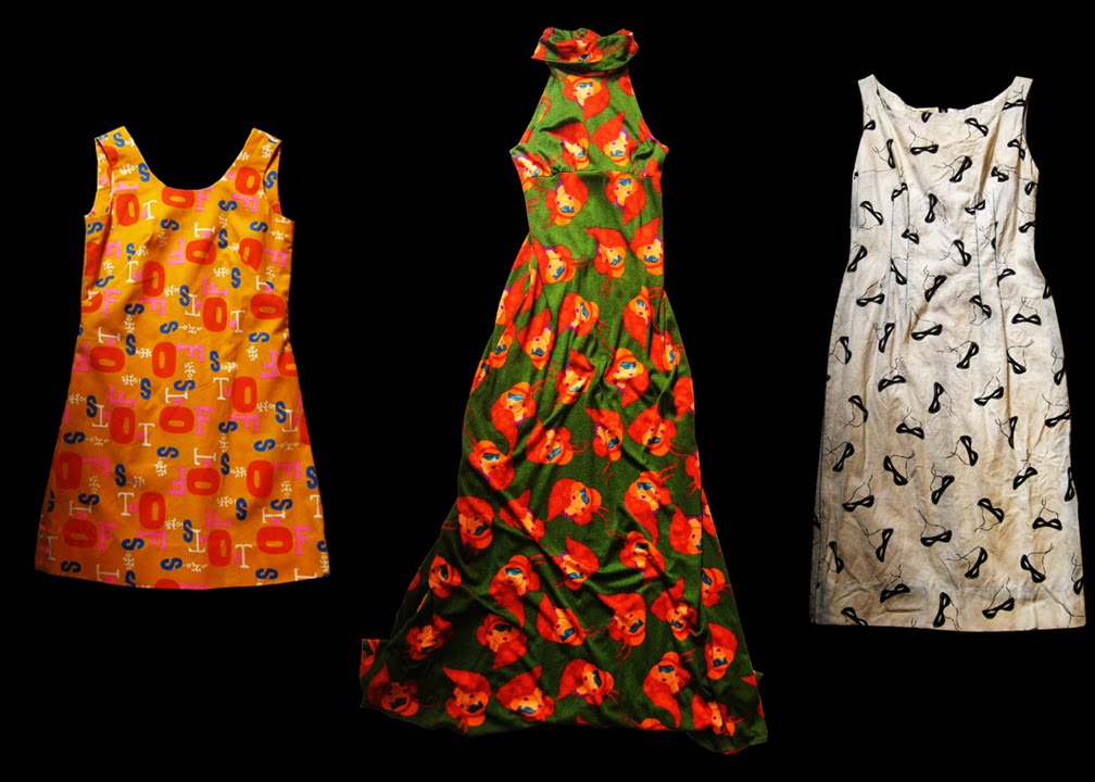 Deco Evening Dresses - Antique Prints, Art, Vintage Prints
