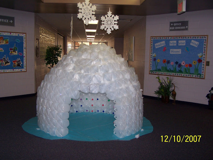 Pcps media center for How to build an igloo out of milk jugs