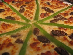 Silkworm Pupa Pizza