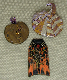 New Cabochon Glass Necklace bronze charm pendants:Halloween October 31th