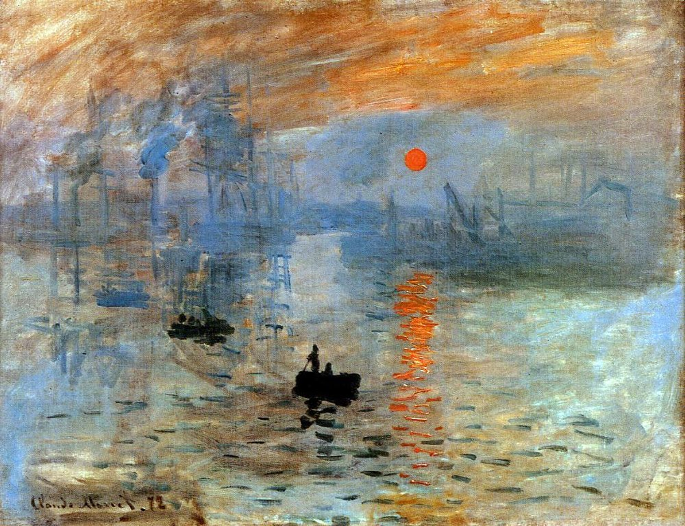 "impression sunrise claude monet Throughout the years, claude monet's impression, sunrise has been celebrated as the quintessential symbol of the impressionist movement this renowned work of art which illustrates a view of the port of le havre in north-western france is considered to be one of monet's ""most poetic expressions"" of his engagement with france's ."