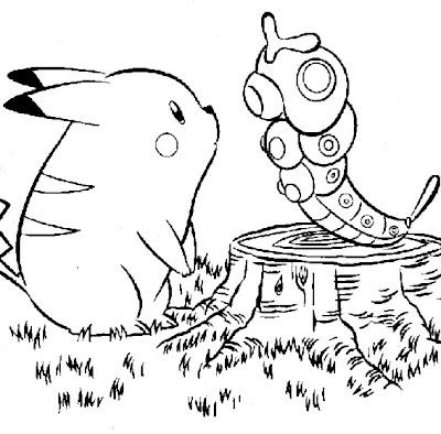 coloriage a imprimer de pokémon - Coloriage de Pokemon a Imprimer Gratuit Coloriages