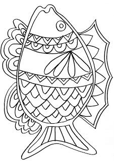 Coloriage Poisson à imprimer Coloriage à imprimer