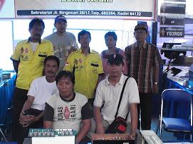 Rekan - Rekan Kediri di stand Malang